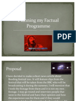 Planning My Facutal Programme TASK 3