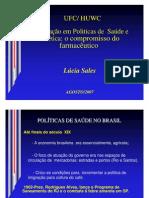 Políticas de Saúde no Brasil (Aula)