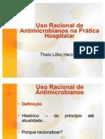 Uso Racional de Antimicrobianos na Prática Hospitalar (Aula)