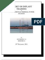 Report on Inplant Training