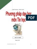 Giao Trinh PPDH Tin Hoc - Duc Long (20081120)