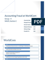 Accounting Fraud at WorldCom C9