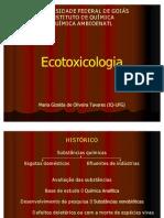 Noções de Ecotoxicologia