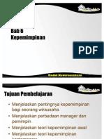 Bab 06 Kepemimpinan