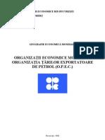 Organizatii Economice Mondiale - Organizatia Tarilor are de Petrol