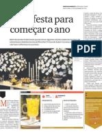 Flourless Chocolate Cake. Guia do Sabor - Diário do Nordeste - 23 a 29/12/11 - Fortaleza - Ce.