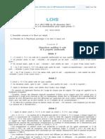 20111220-France-Loi relative à la rémunération pour copie privée copie privée-Texte définitif