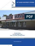Net Leased Family Dollar Property