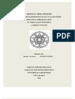 Proposal Kerja Praktek Ggp