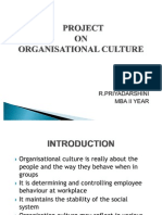 A Study on Organisational Culture in Ashok Leyland