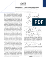Jonathan R. Scheerer et al- Asymmetric Synthesis of Salvinorin A, A Potent kappa Opioid Receptor Agonist