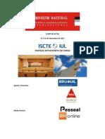 Livro de Actas Do II Simposium Nacional Sobre Formacao e to Organizacional