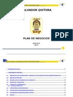 Plan de Negocios Quitora Salvador