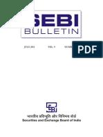 SEBI July 2011 Bulletin
