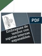 Embragues de Tambor Con Zapatas Internas Expansibles