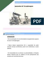 UFBA - Aula 10 - Classificação dos Equipamentos de Terraplenagem