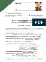 CV Monteuse Pascale Chrétien
