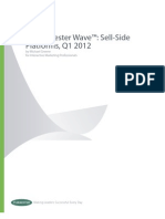 Forrester Wave Sell-side Platforms Q112