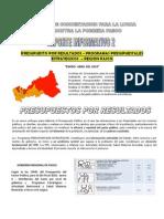 Reporte 2 - 2010 - Ejecucion Presupuestal - Programas Presupuestales Estrategicos Enero - Abril 2010