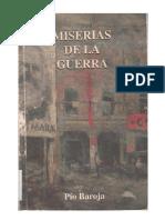 Baroja Pio - Las Miserias de La Guerra [PDF]