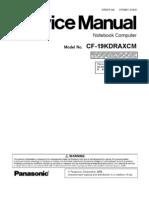 CF-19KDRAXCM Service Manual
