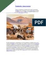 Fundación y época incaica