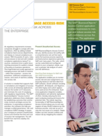 Confidently Manage Access Risk Reduce Access Risk Across the Enterprise