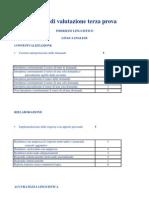 Criteri Di Valutazione Terza Prova