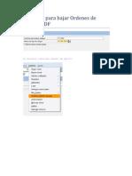 J007 - Template Para Bajar Ordenes de Spool a PDF