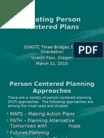 Creating Person Centered Plans-Three Bridges