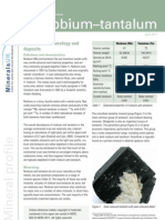 BGS Mineral Data Sheet