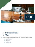 Disciiplines jur03