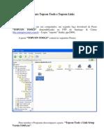 Instal an Do o Software Topcon Tools e Topcon Link