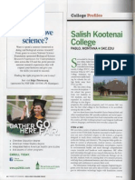 AISES College Salish Kootenai Profile