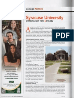 AISES College Syracuse Profile
