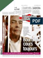 Libération  Bourdieu cours toujours