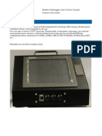 Mobile Data Logger and Control System