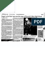 Singin in the Rain Press Release