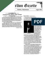Charlton Gazette Prouty