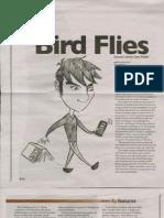 Student Voice Bird Flies March 11