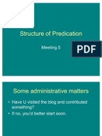 Structure of Predication 2