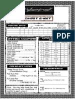 CyberPunk Combat Page
