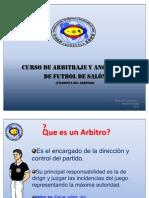Conafutsal - Filosofia Del Arbitro
