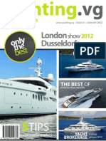 Yachting.vg Motoryachts Edition magazine January 2012 issue - Yacht Brokerage Yacht Charter in the BVIs