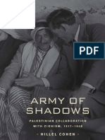 Hillel Cohen - Army of Shadows, Palestinian Collaboration With Zionism, 1917-1948 (2009)