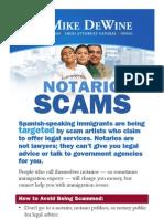 Notario Scams