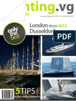 Yachting.vg Sailboats Edition magazine January 2012 issue - Yacht Brokerage Yacht Charter in the BVIs