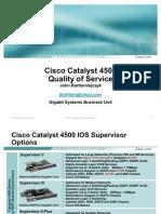 Cat4500 QOS CENIC