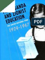Yoram Bar Gal - Propaganda and Zionist Education, The Jewish National Fund 1924 - 1947 (2003)