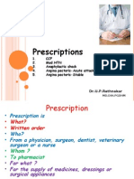Presciption MBBS CVS 2003